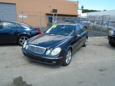 2006 Mercedes-Benz E-Class for sale at Dream Cars 4 U in Hollywood FL