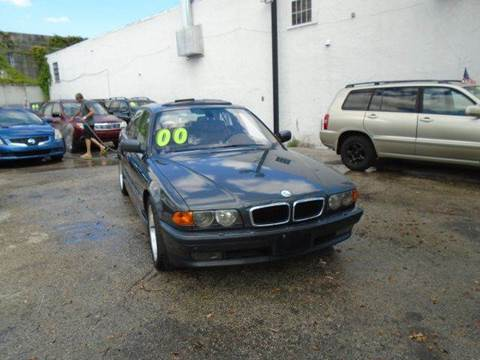 2000 BMW 7 Series for sale at Dream Cars 4 U in Hollywood FL