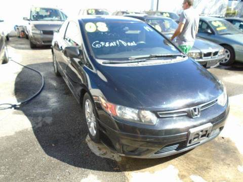 2008 Honda Civic for sale at Dream Cars 4 U in Hollywood FL