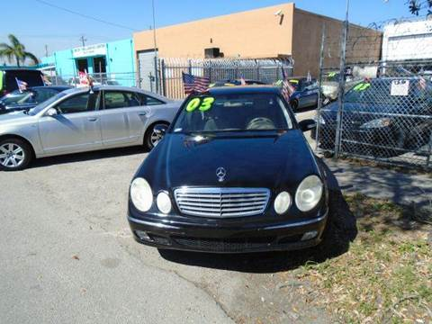 2003 Mercedes-Benz E-Class for sale at Dream Cars 4 U in Hollywood FL