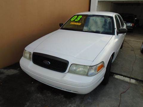 2003 Ford Crown Victoria for sale at Dream Cars 4 U in Hollywood FL