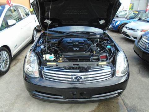 2004 Infiniti G35 for sale at Dream Cars 4 U in Hollywood FL