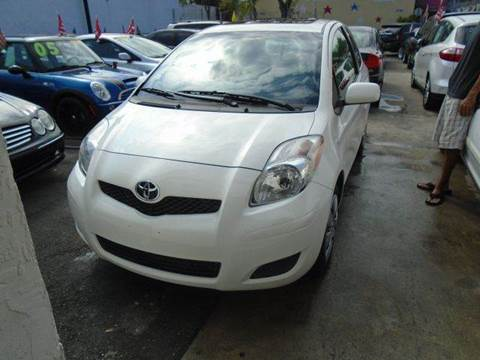 2010 Toyota Yaris for sale at Dream Cars 4 U in Hollywood FL