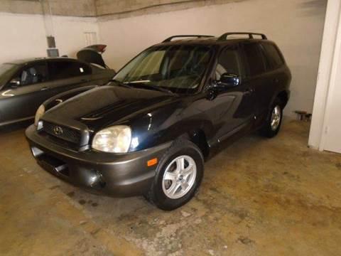 2004 Hyundai Santa Fe for sale at Dream Cars 4 U in Hollywood FL