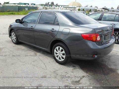2009 Toyota Corolla for sale at Dream Cars 4 U in Hollywood FL