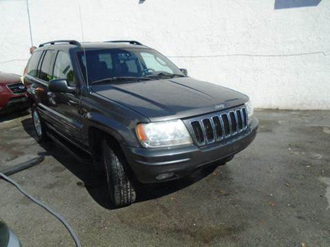 2002 Jeep Grand Cherokee for sale at Dream Cars 4 U in Hollywood FL