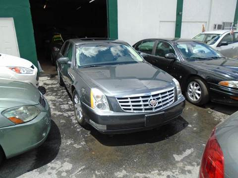 2009 Cadillac DTS for sale at Dream Cars 4 U in Hollywood FL