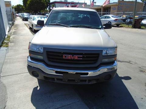 2006 GMC Sierra 1500 for sale at Dream Cars 4 U in Hollywood FL