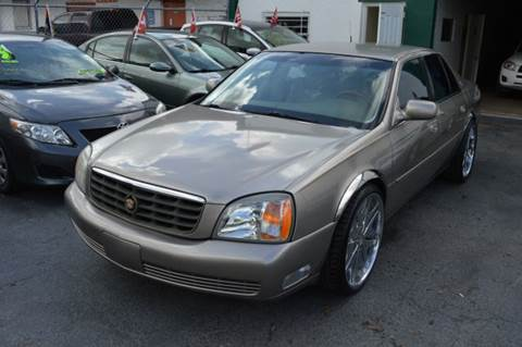 2000 Cadillac DeVille for sale at Dream Cars 4 U in Hollywood FL