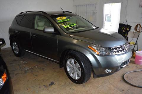 2007 Nissan Murano for sale at Dream Cars 4 U in Hollywood FL