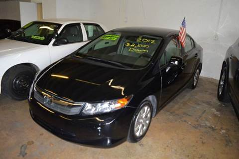 2012 Honda Civic for sale at Dream Cars 4 U in Hollywood FL