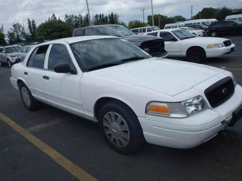 2008 Ford Crown Victoria for sale at Dream Cars 4 U in Hollywood FL