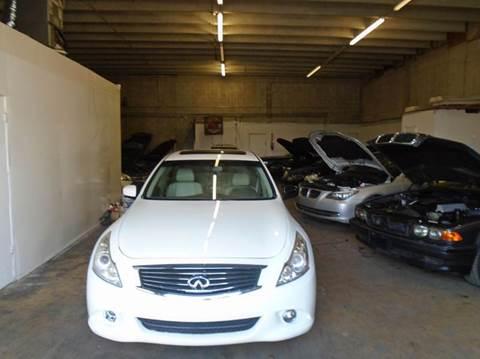2011 Infiniti G25 Sedan for sale at Dream Cars 4 U in Hollywood FL