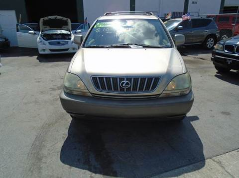 2001 Lexus RX 300 for sale at Dream Cars 4 U in Hollywood FL