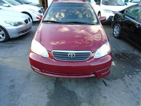 2005 Toyota Corolla for sale at Dream Cars 4 U in Hollywood FL