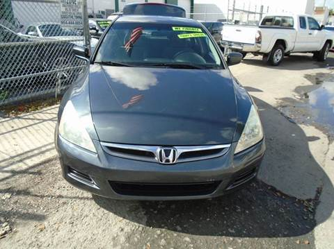2006 Honda Accord for sale at Dream Cars 4 U in Hollywood FL