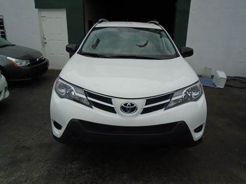 2013 Toyota RAV4 for sale at Dream Cars 4 U in Hollywood FL