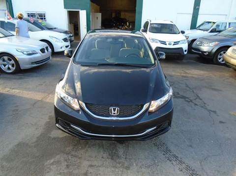 2013 Honda Civic for sale at Dream Cars 4 U in Hollywood FL