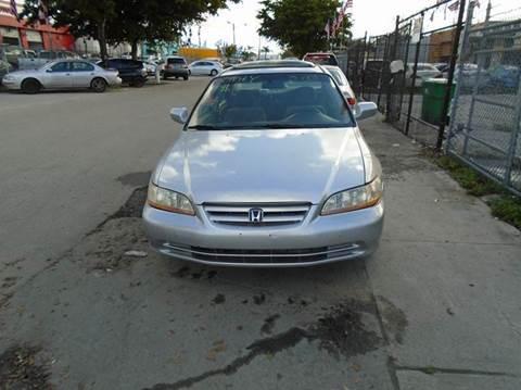 2001 Honda Accord for sale at Dream Cars 4 U in Hollywood FL
