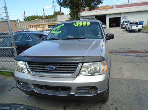 2002 Ford Explorer for sale at Dream Cars 4 U in Hollywood FL