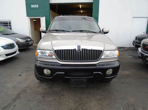 2002 Lincoln Navigator for sale at Dream Cars 4 U in Hollywood FL