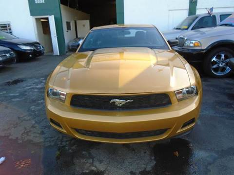 2010 Ford Mustang for sale at Dream Cars 4 U in Hollywood FL