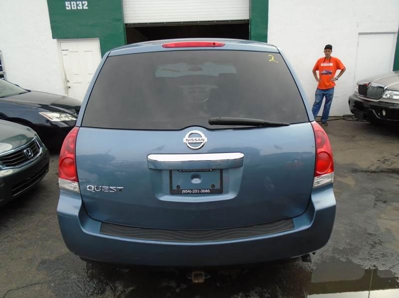2008 Nissan Quest 35 Se 4dr Mini Van In Hollywood Fl Dream Cars 4 U