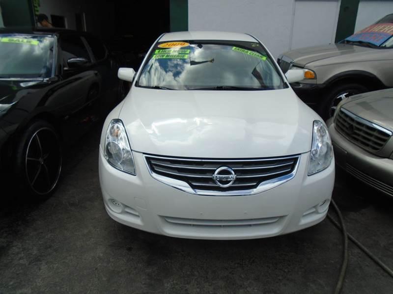 2010 Nissan Altima 25 S 4dr Sedan In Hollywood Fl Dream Cars 4 U