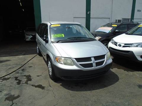 2005 Dodge Caravan for sale at Dream Cars 4 U in Hollywood FL