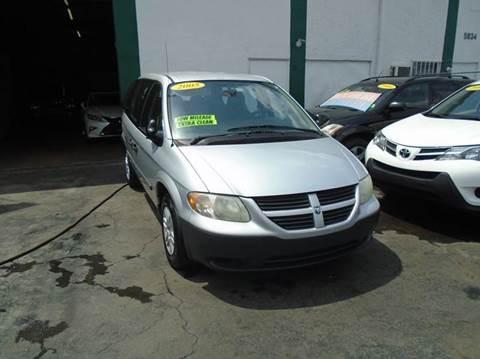 2005 Dodge Caravan for sale at Dream Cars 4 U in Hollywood FL