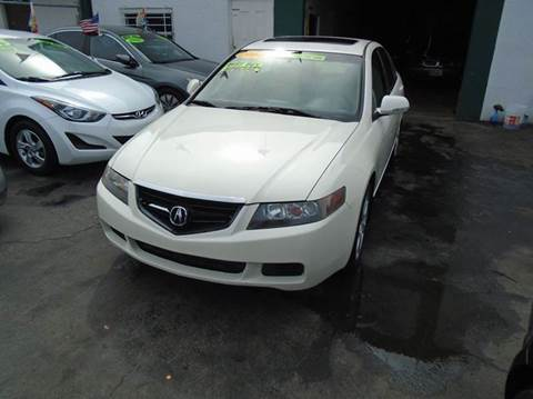 2004 Acura TSX for sale at Dream Cars 4 U in Hollywood FL