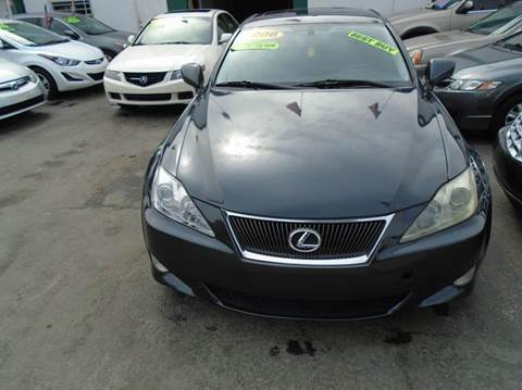 2006 Lexus IS 250 for sale at Dream Cars 4 U in Hollywood FL