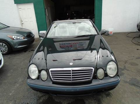 1999 Mercedes-Benz CLK for sale at Dream Cars 4 U in Hollywood FL