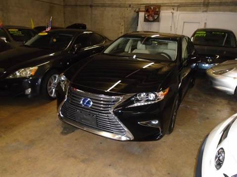 2016 Lexus ES 300h for sale at Dream Cars 4 U in Hollywood FL