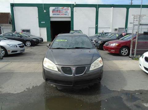 2007 Pontiac G6 for sale at Dream Cars 4 U in Hollywood FL