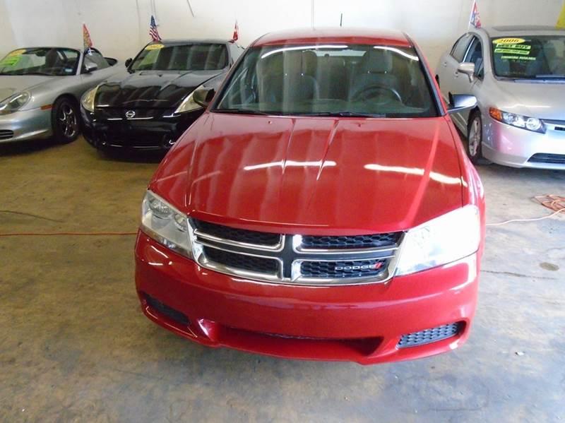 2014 Dodge Avenger for sale at Dream Cars 4 U in Hollywood FL