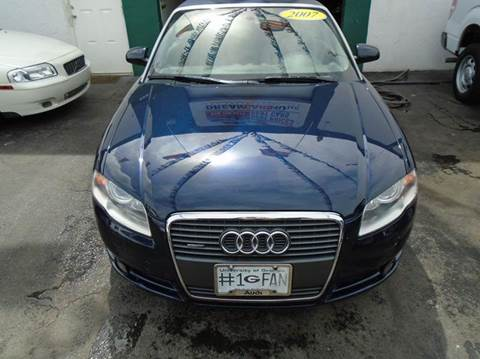 2007 Audi A4 for sale at Dream Cars 4 U in Hollywood FL