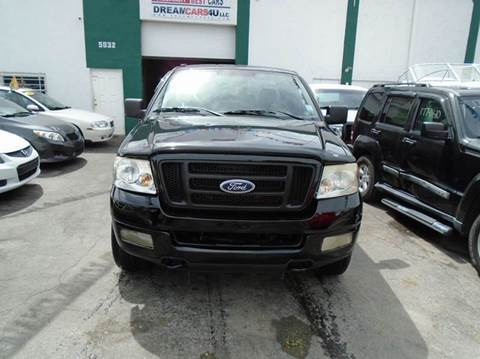 2004 Ford F-150 for sale at Dream Cars 4 U in Hollywood FL