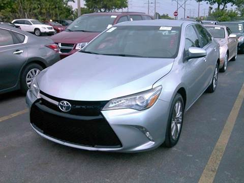 2016 Toyota Camry for sale at Dream Cars 4 U in Hollywood FL
