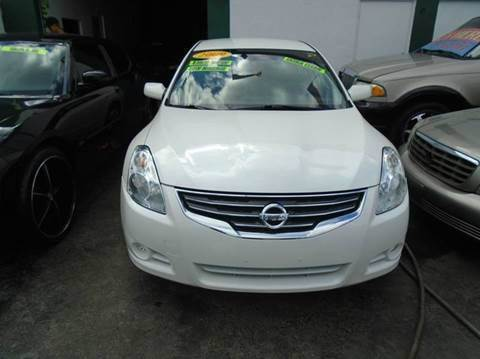 2010 Nissan Altima for sale at Dream Cars 4 U in Hollywood FL