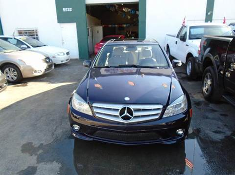 2010 Mercedes-Benz C-Class for sale at Dream Cars 4 U in Hollywood FL