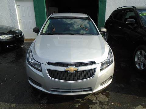 2012 Chevrolet Cruze for sale at Dream Cars 4 U in Hollywood FL