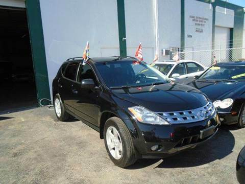 2004 Nissan Murano for sale at Dream Cars 4 U in Hollywood FL