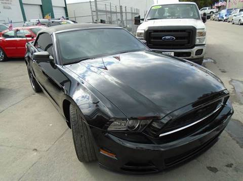 2013 Ford Mustang for sale at Dream Cars 4 U in Hollywood FL