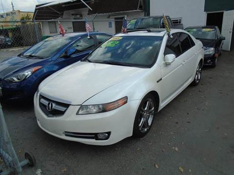2008 Acura TL for sale at Dream Cars 4 U in Hollywood FL