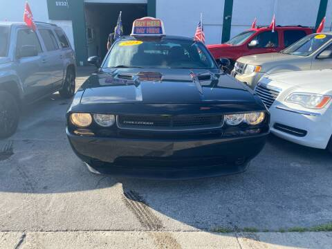 2013 Dodge Challenger for sale at Dream Cars 4 U in Hollywood FL