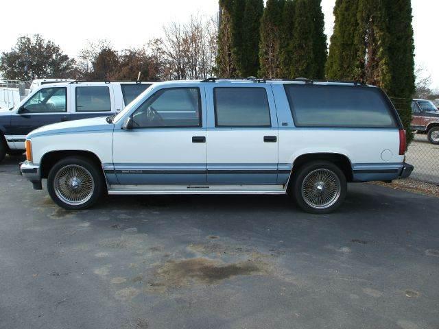 1992 Gmc Suburban C1500 4dr SUV 2WD In Nampa ID - Amen Auto Sales