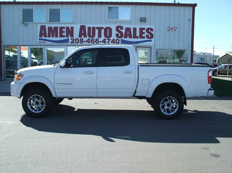 2004 toyota tundra 4dr double cab limited 4wd sb v8 in nampa id amen auto sales. Black Bedroom Furniture Sets. Home Design Ideas