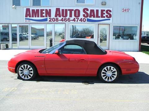 2003 Ford Thunderbird for sale in Nampa, ID