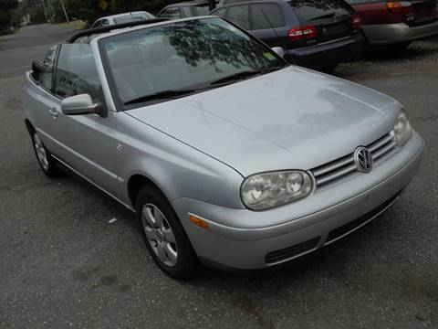 2002 Volkswagen Cabrio for sale at Jeremiah Auto Sales  certified pre-owned cars in Brick NJ